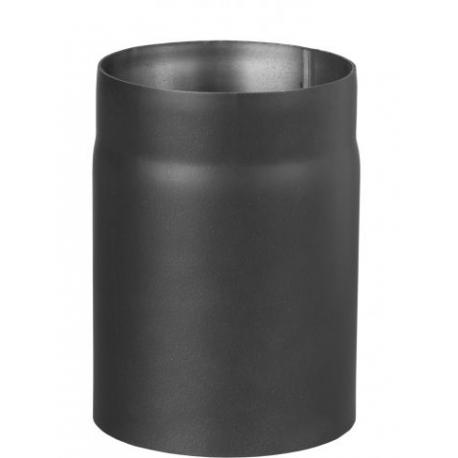 Rura spalinowa czarna prosta fi 150