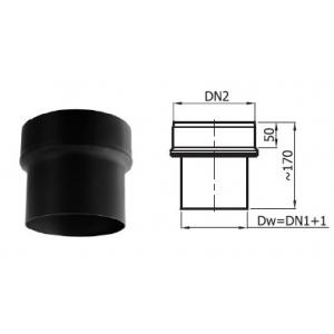 Redukcja kominowa fi 180/150 mm