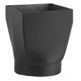 Redukcja kominowa prostokąt/okrąg 200x200xfi160 mm
