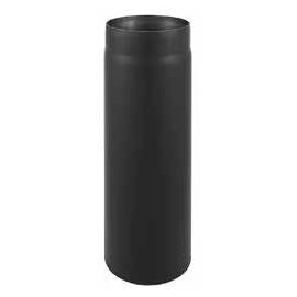 Rura spalinowa czarna prosta fi 130