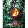 Palenisko ogrodowe ognista kula Charnwood Fireball