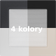 Kratka wentylacyjna 17x17 różne kolory