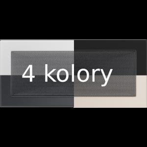Kratka wentylacyjna 17x37 różne kolory