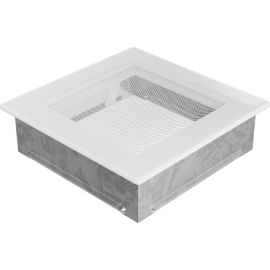 Kratka wentylacyjna biała 17x17