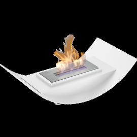 Biokominek wolnostojący BIOMISA mini biały