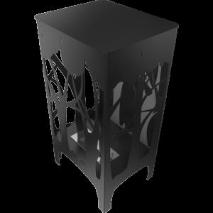Biokominek wolnostojący FOXTROT czarny