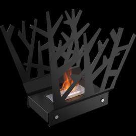 Biokominek wolnostojący HOTEL mini KRZAK czarny