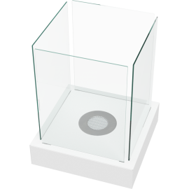 Biokominek wolnostojący TANGO 4 biały