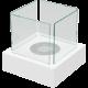 Biokominek wolnostojący TANGO 3 biały