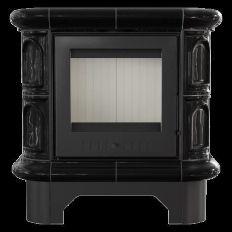 Piec kaflowy WK 440 kafel czarny
