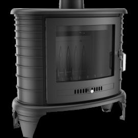 Piec żeliwny KOZA K8 z Turbofanem
