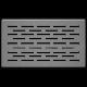 Kratka podłogowa FLOOR szlifowana 11x17