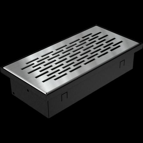 Kratka podłogowa FLOOR szlifowana 9x20