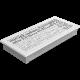 Kratka ozdobna ABC biała 17x37