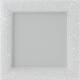 Kratka Venus z kryształami Swarovski biała 17x17
