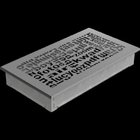 Kratka ozdobna ABC granito 17x30