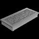 Kratka ozdobna ABC granito 17x37