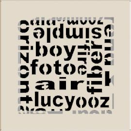 Kratka ozdobna ABC kremowa 17x17