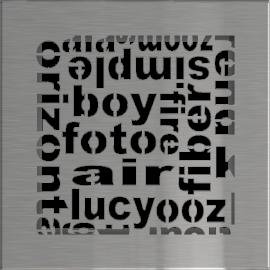 Kratka ozdobna ABC szlifowana 17x17