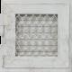 Kratka Retro pojedyncza biała antyk otwierana 17