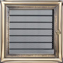 Kratka ozdobna Rustykalna z żaluzją 17x17