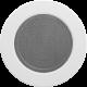 Kratka okrągła biała fi 125