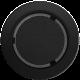 Kratka okrągła czarna fi 150