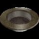 Kratka okrągła czarno-złota fi 125