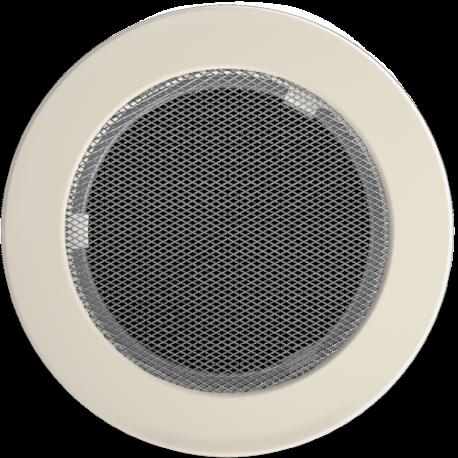 Kratka okrągła kremowa fi 150
