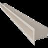 Kratka TUNEL kremowy 6x100