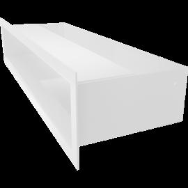 kratka LUFT biały 9x40