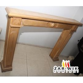 Drewniany Portal do wkładu kominkowego