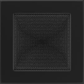 Kratka wentylacyjna czarna 17x17