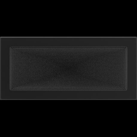 Kratka wentylacyjna czarna 17x37
