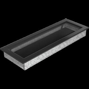 Kratka wentylacyjna czarna 17x49