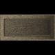 Kratka czarno złota 17x37