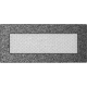 Kratka czarno srebrna 11x24