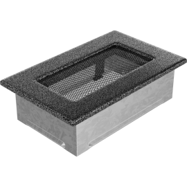 Kratka czarno srebrna 11x17