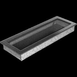 Kratka czarno srebrna 17x49