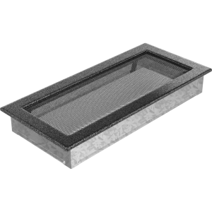 Kratka czarno srebrna 17x37