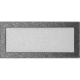 Kratka czarno-srebrna 17x37