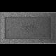 Kratka czarno srebrna 17x30