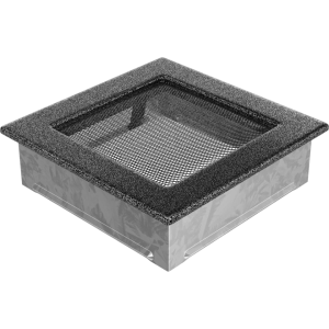 Kratka czarno srebrna 17x17