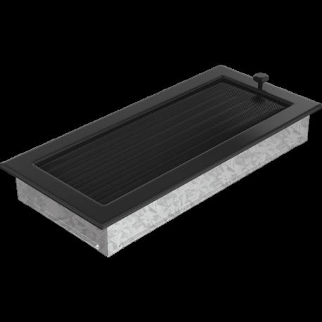 Kratka czarna z żaluzją 17x37