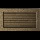 Kratka czarno złota z żaluzją 17x30