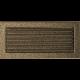 Kratka czarno złota z żaluzją 17x37