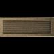 Kratka czarno złota z żaluzją 17x49
