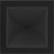 Kratka czarna 22x22