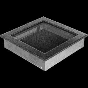 Kratka czarno-srebrna 22x22