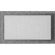 Kratka czarno-srebrna 22x37